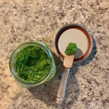 asiatisches Laksa Pesto