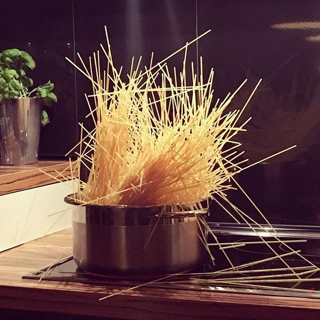 Spaghetti kochen ohne Wasser wie Johann Lafer